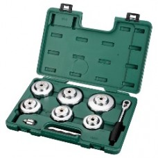 8pc end cap oil filter wrench set