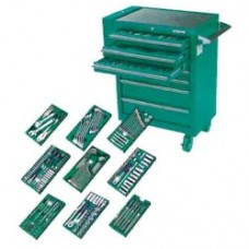 Tool storage and tray set