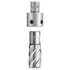 Adapter with Quick-In holder for core drills with Weldon sha..