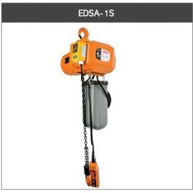 EDSA Inverter electric chain hoist - hook suspension type  (Variable Speed - Inverter Control) - 2 speed hoist motion - 1T x 3M