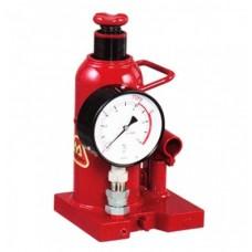 Jacks with pressure gauge fixed