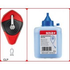CLP 30 SET B - chalk line + powder - CLP 30 + KPB 250 blue